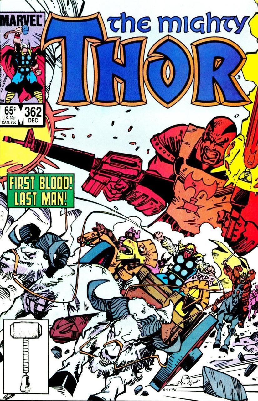 Thor volume 1, #362