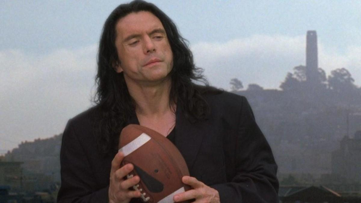 Early The Room posters had two taglines