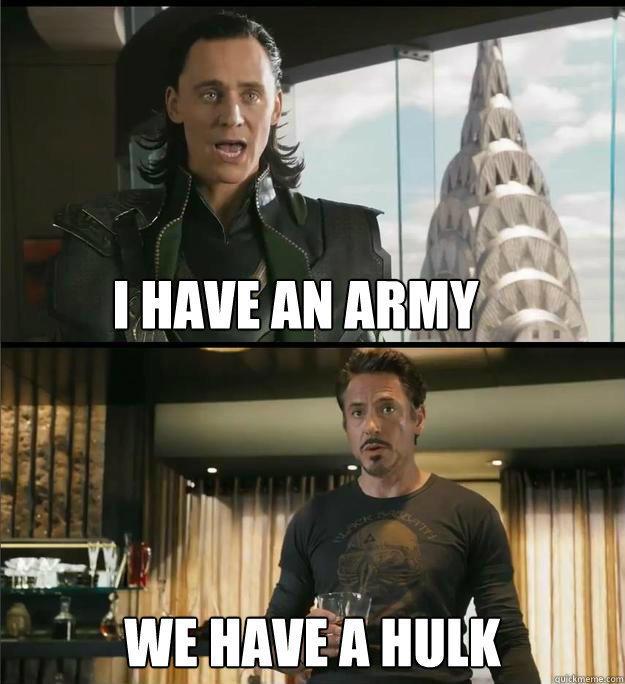 2. We Have a Hulk