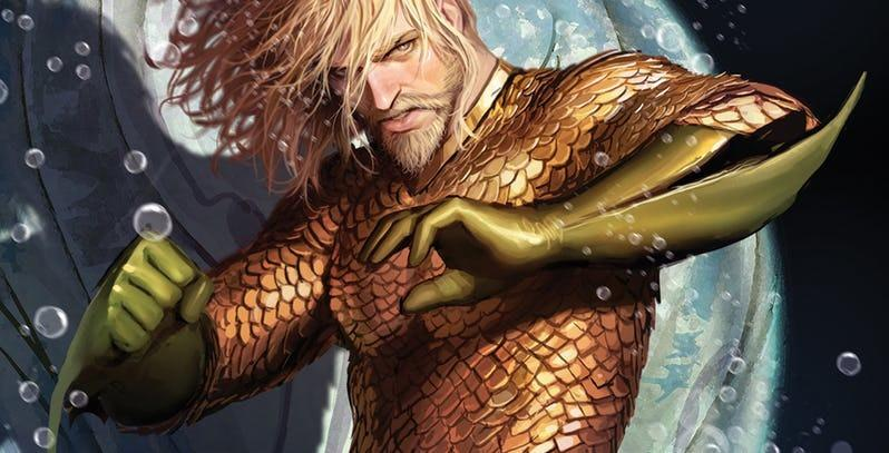 1. Adapting the classic Aquaman costume