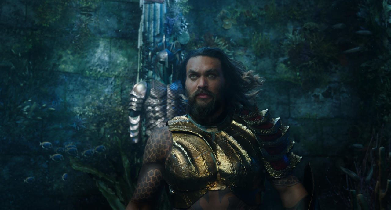 2. Giving Aquaman a sense of humor, rather than making him the butt of the joke
