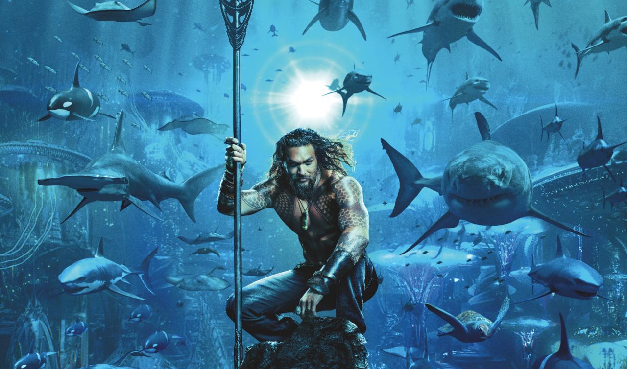 6. Does Aquaman talk to fish?