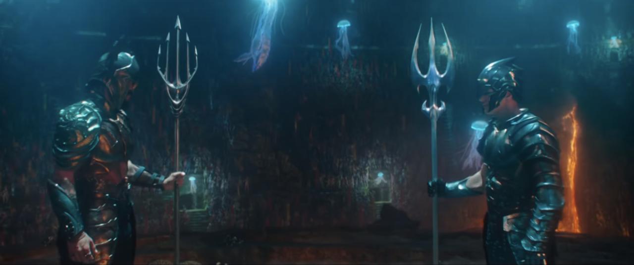 16. Crafting the underwater scenes