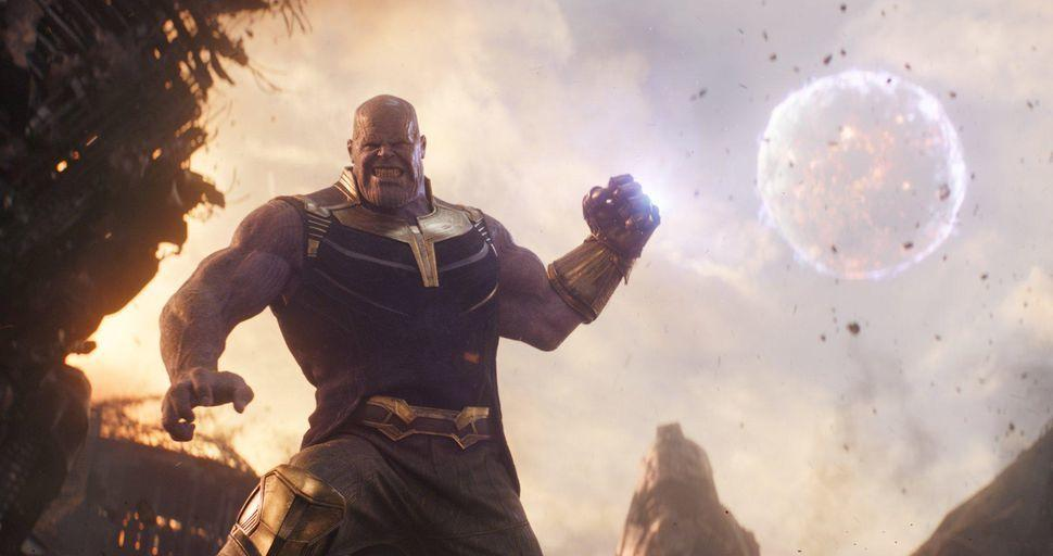 1. Avengers Infinity War