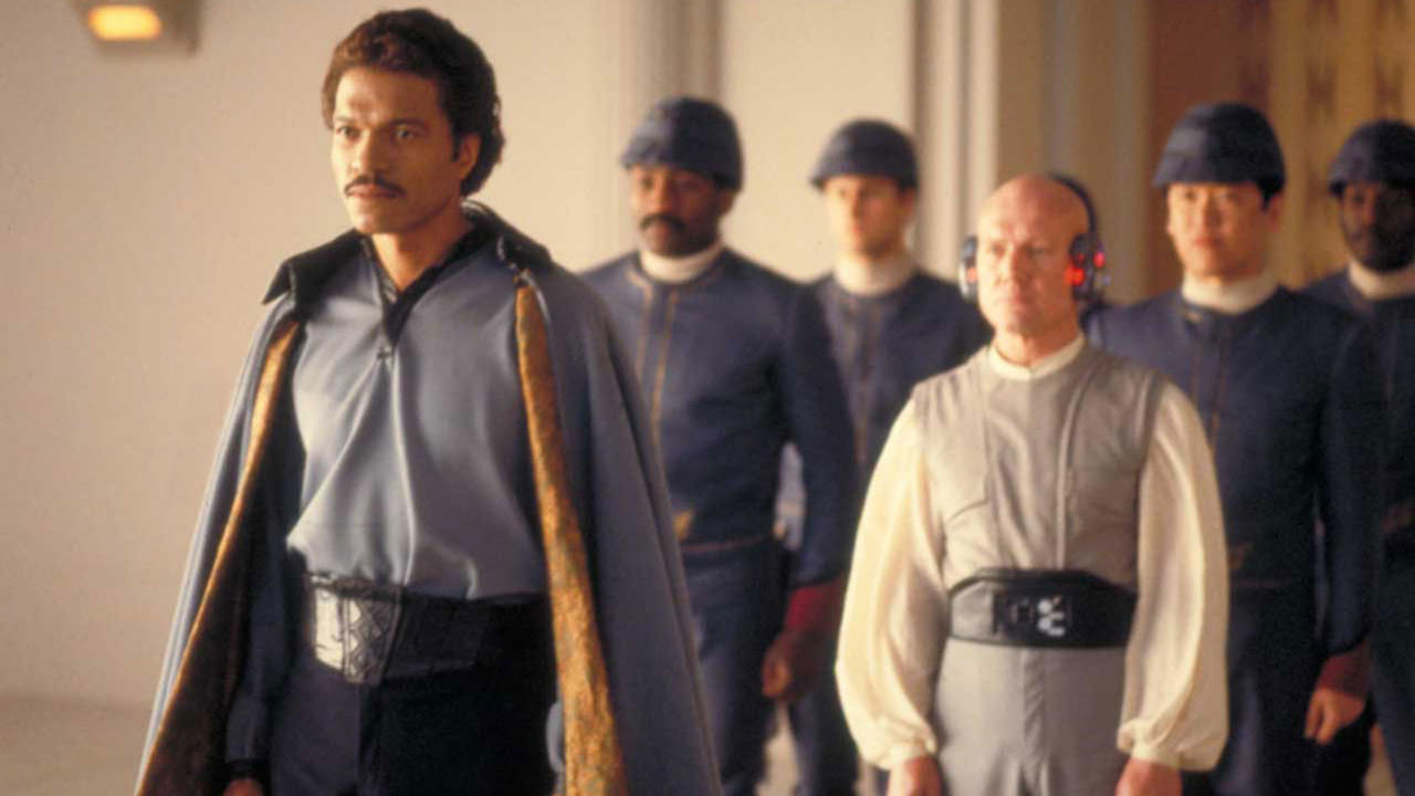 Billy Dee Williams is back as Lando