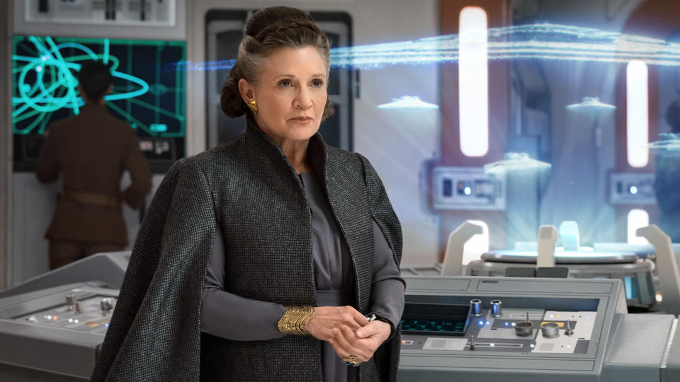 Carrie Fisher is back as Leia Organa