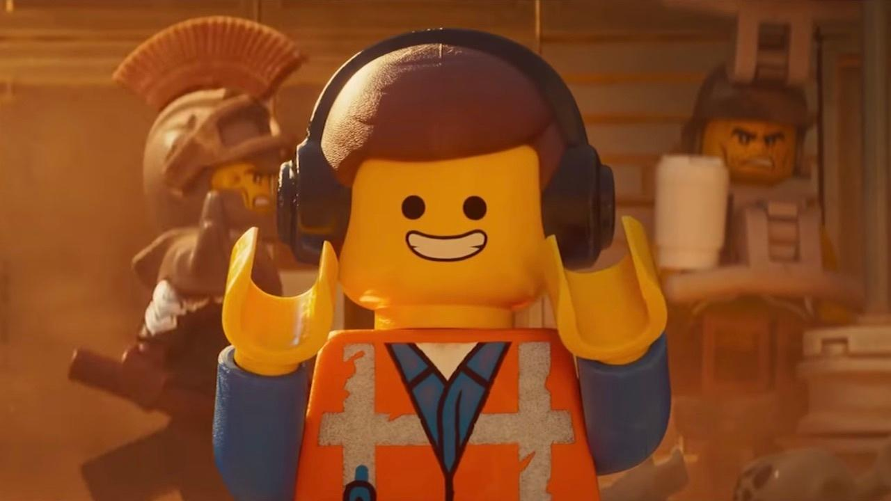 Brick by brick, Emmet fights the system.