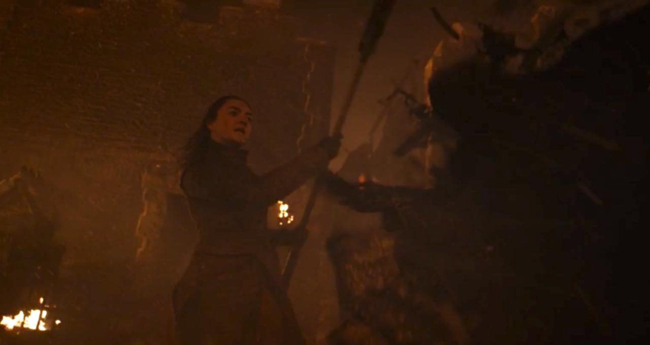 9. Arya To The Rescue
