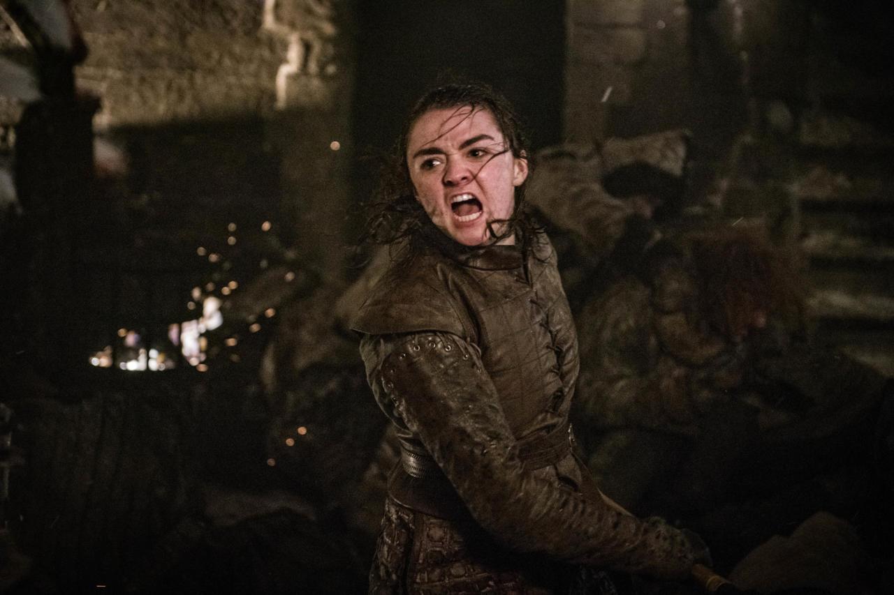 13. Arya's First Battle