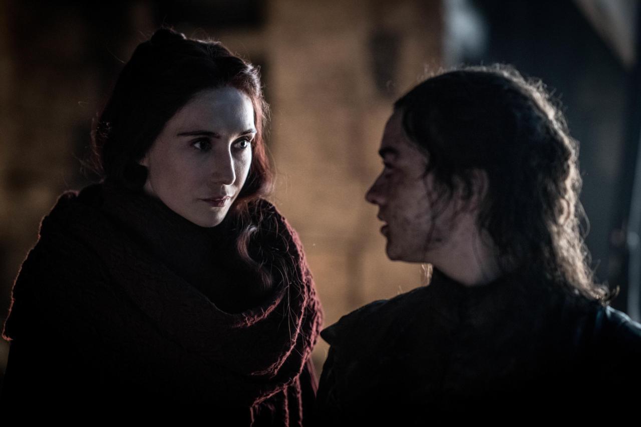 15. Arya And Mel