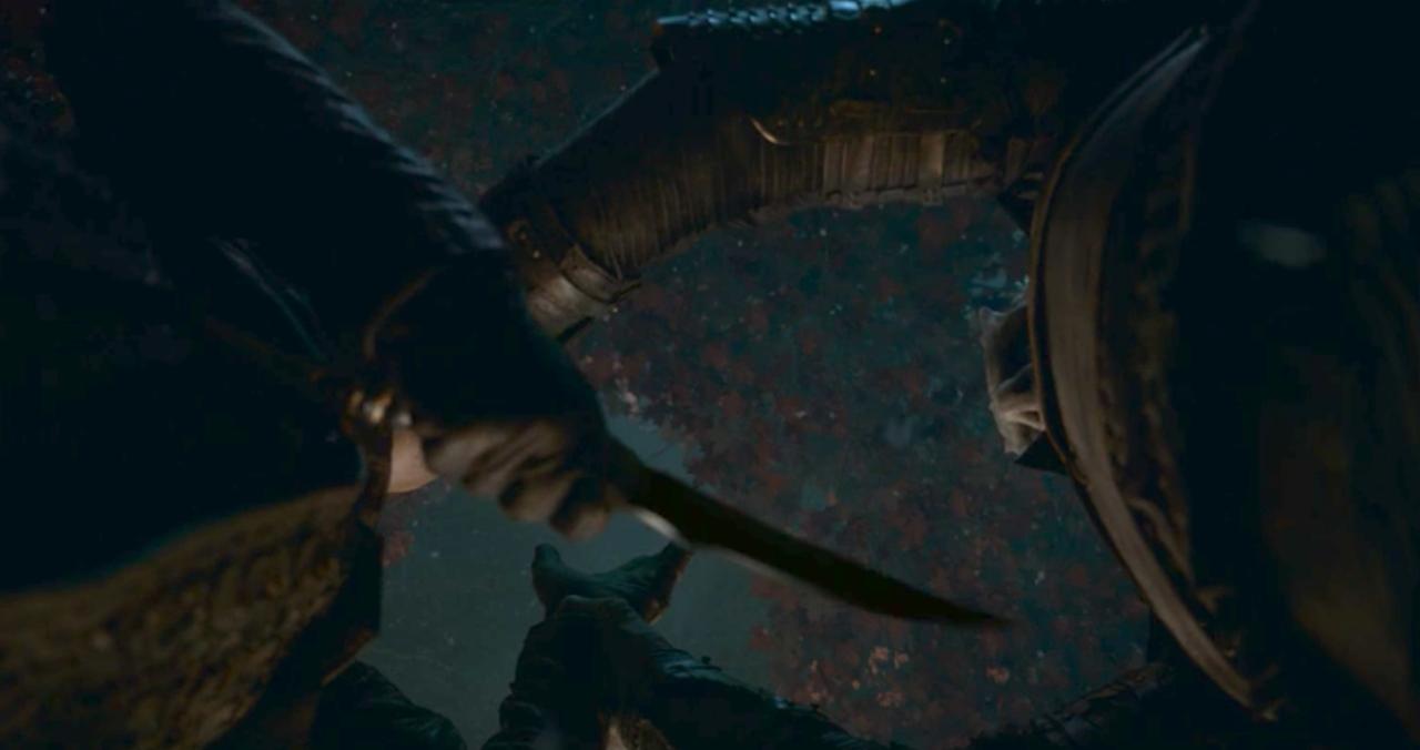 20. Arya's Knife Trick