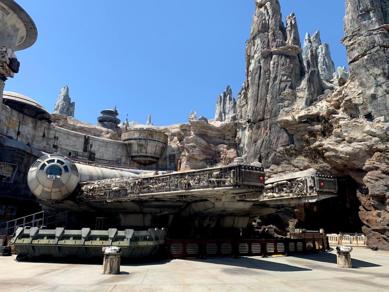 In a corner of Disneyland far, far away.