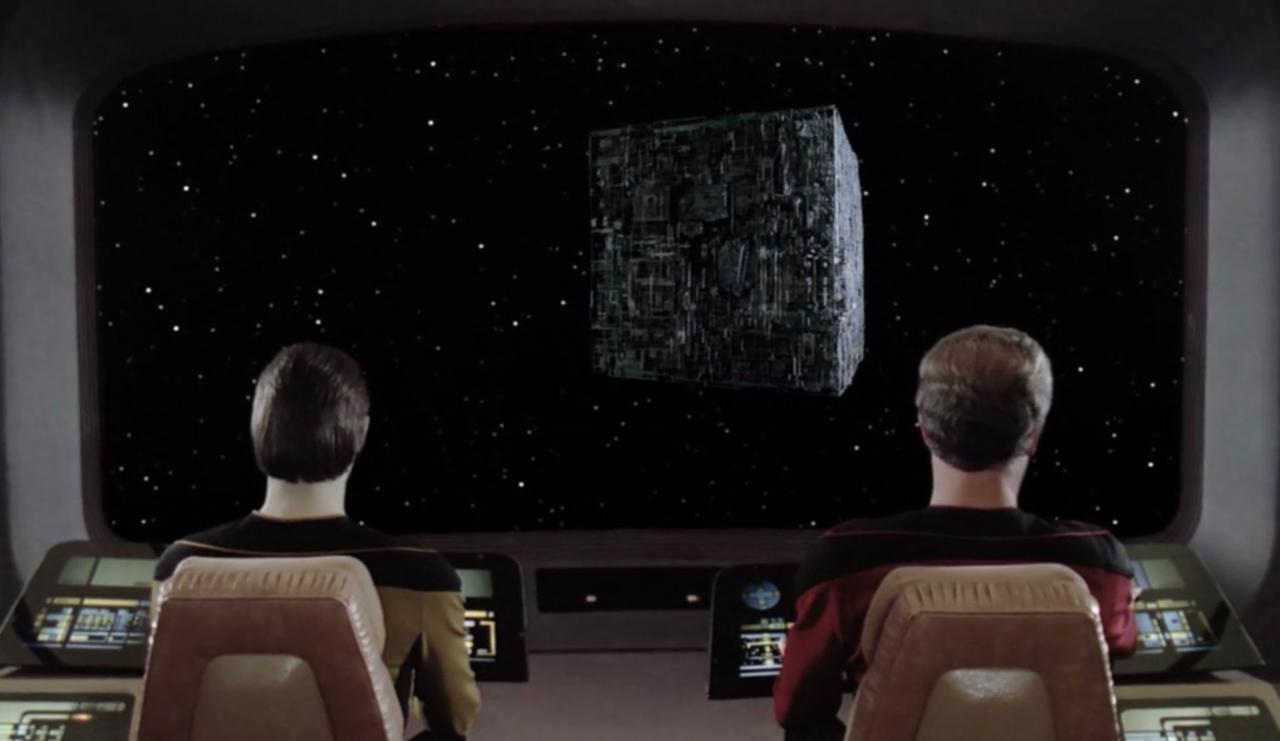 5. When did Starfleet first make contact with the Borg?
