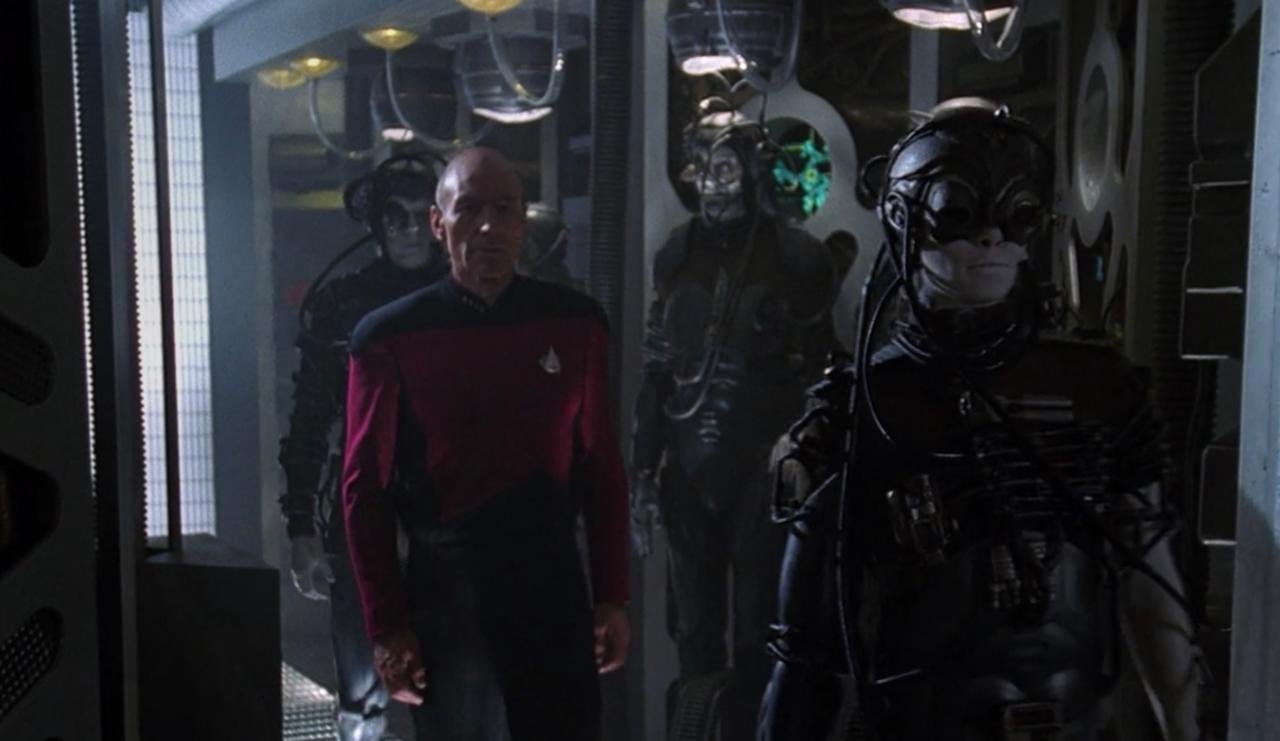 6. What happened when the Borg finally arrived in the Alpha Quadrant?
