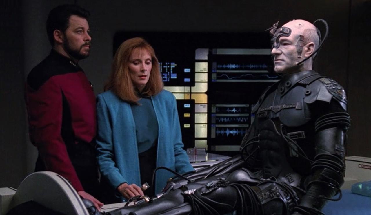 """9. How did the Enterprise crew rescue """"Locutus?"""""""