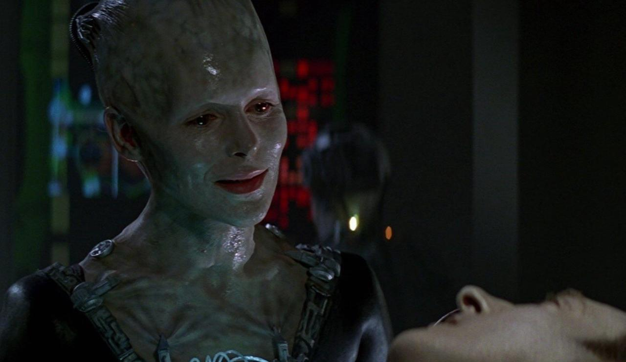 14. Who is the Borg Queen?