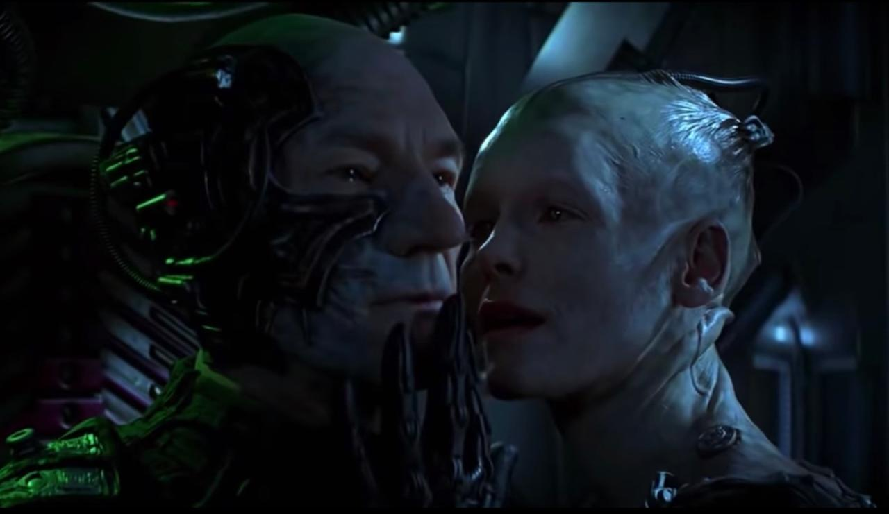 15. How did Picard deal with the Borg this time around?
