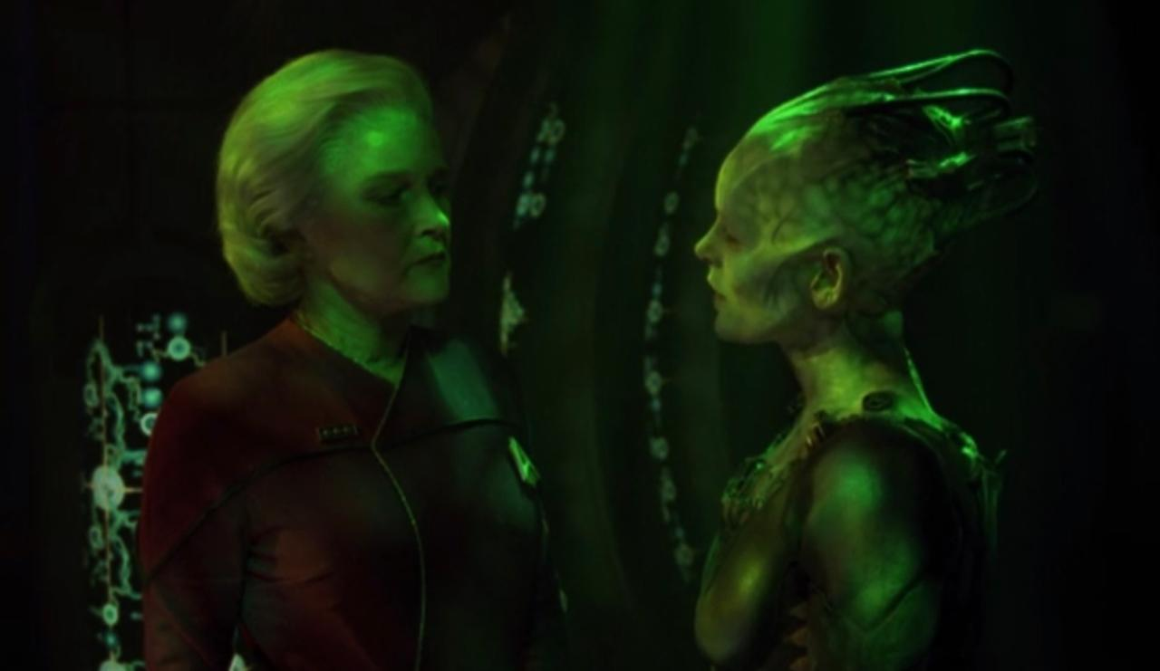 20. How did Trek fans receive Seven of Nine?