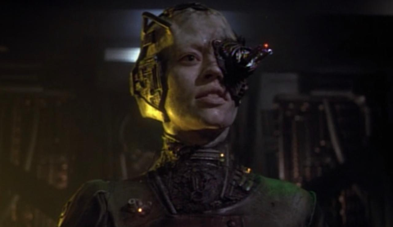 16. What other appearances have the Borg made in Star Trek?