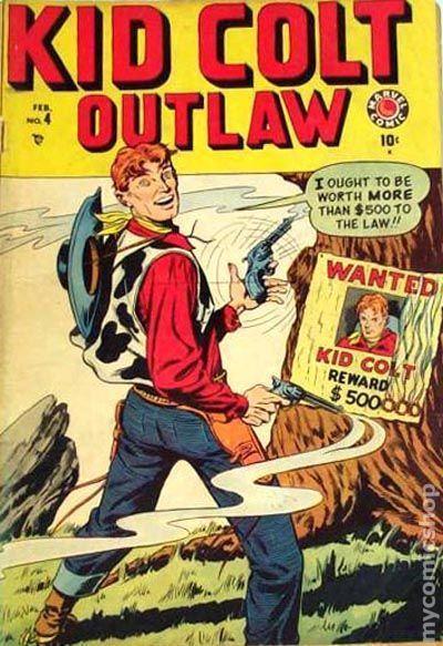 17. Kid Colt, Outlaw