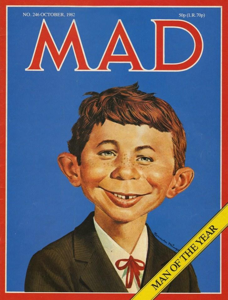 18. Mad Magazine