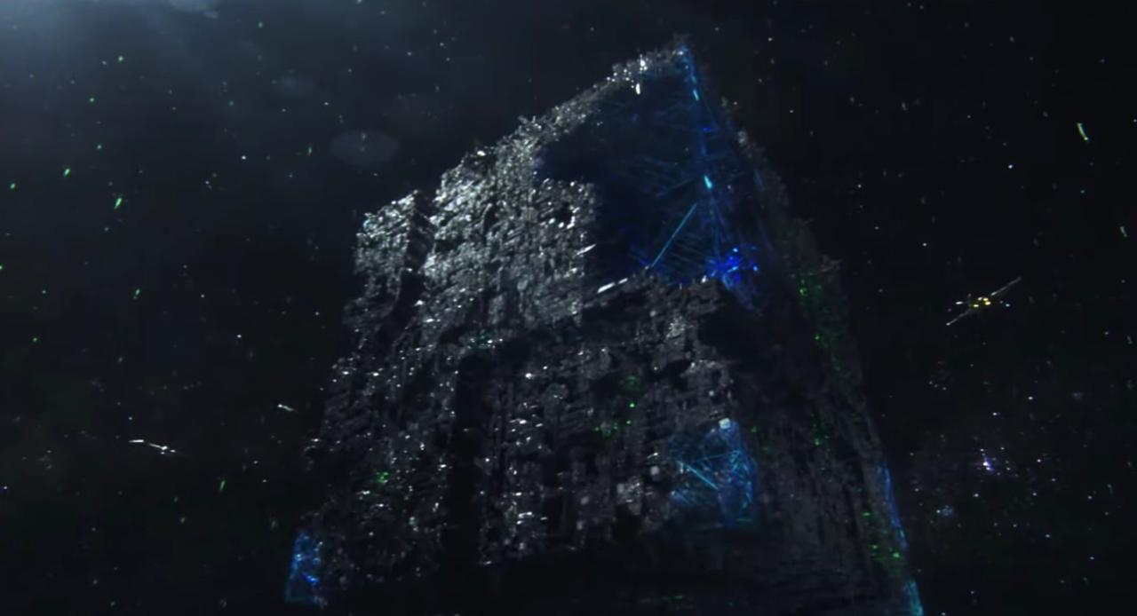 6. Is the Borg cube the prison?
