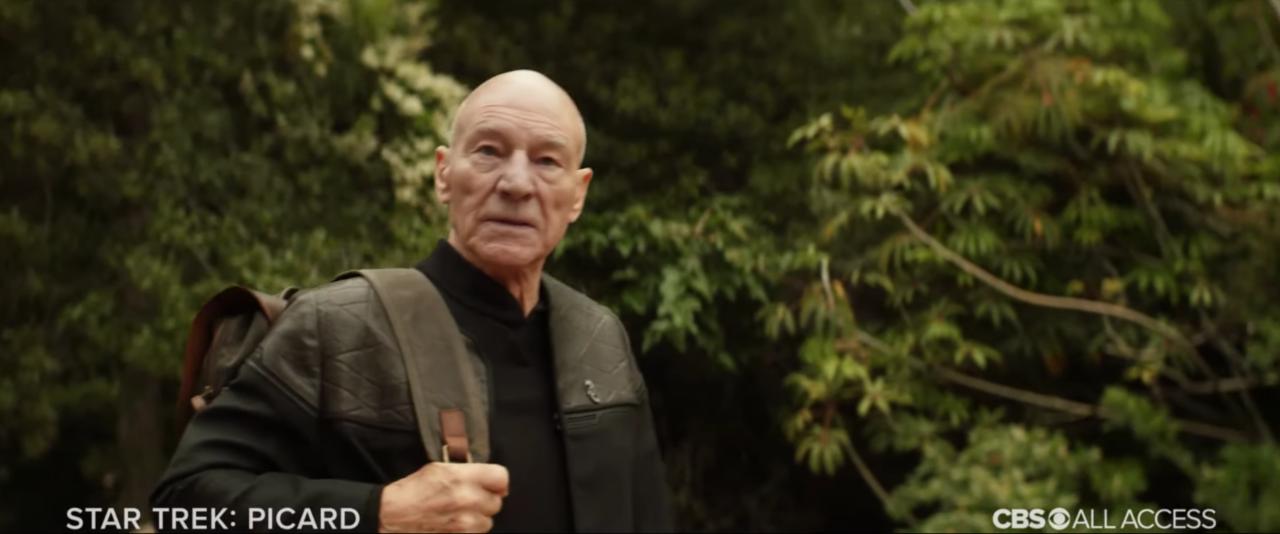 It's Set After Captain Picard's Retirement