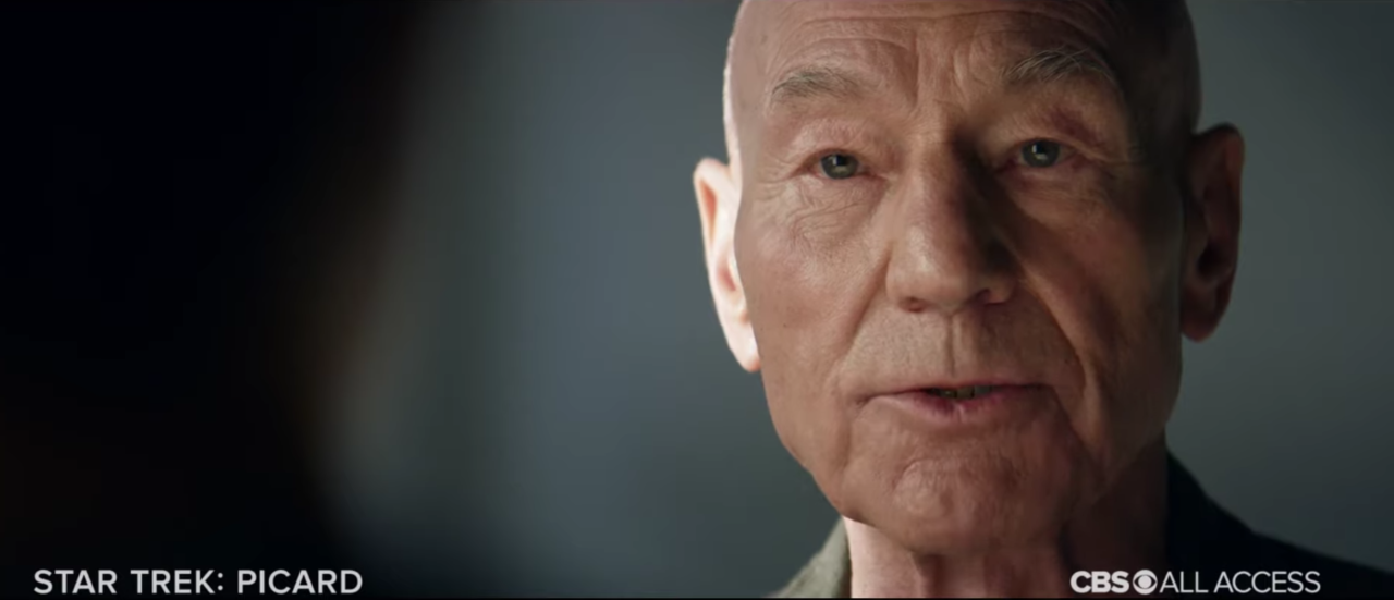 Patrick Stewart Is Working With The Writers' Room