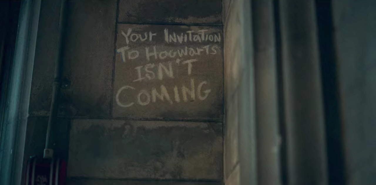 """17. """"Your invitation to Hogwarts isn't coming"""""""