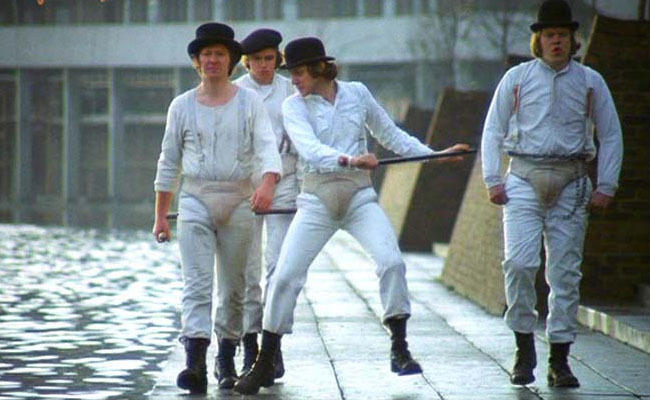 """19. """"Me and my droogs"""""""