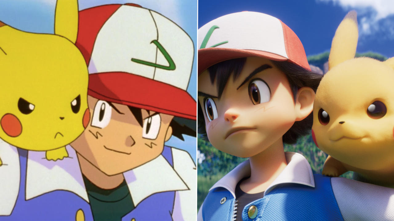 Here are some comparisons between the original and the new version of Mewtwo Strikes Back.