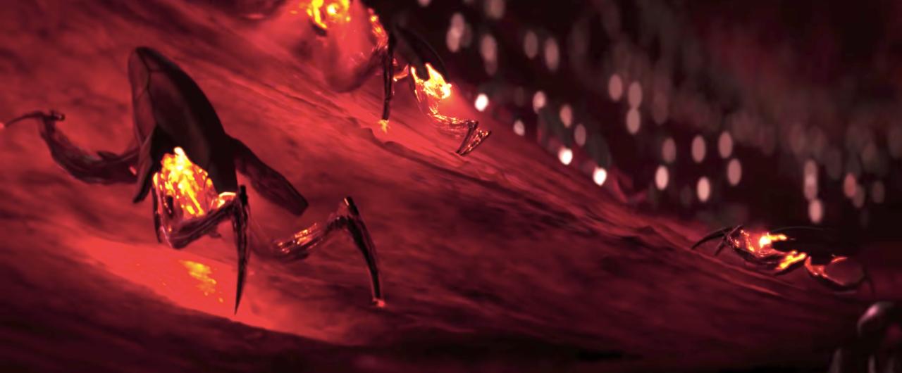 Bloodshot's nanites in action