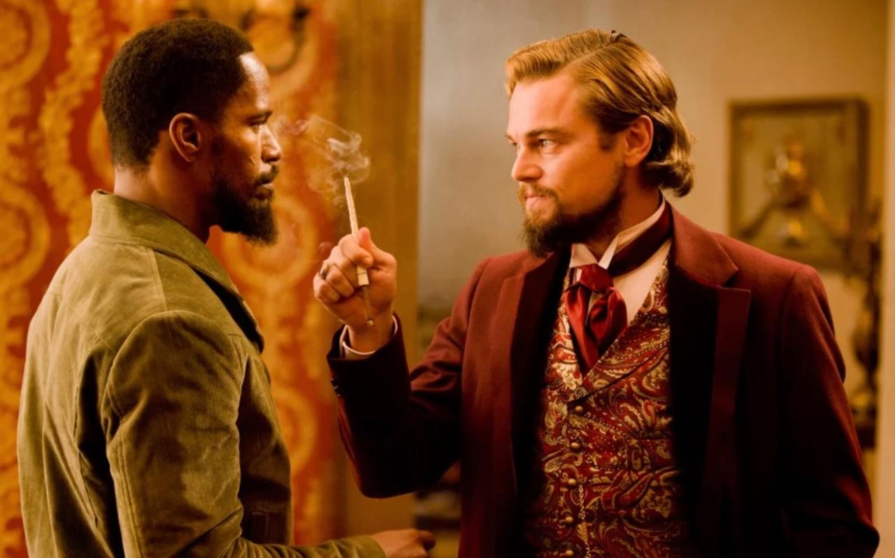 It's the story of a freed slave, a German bounty hunter, and the worst Southern plantation in Hollywood history.