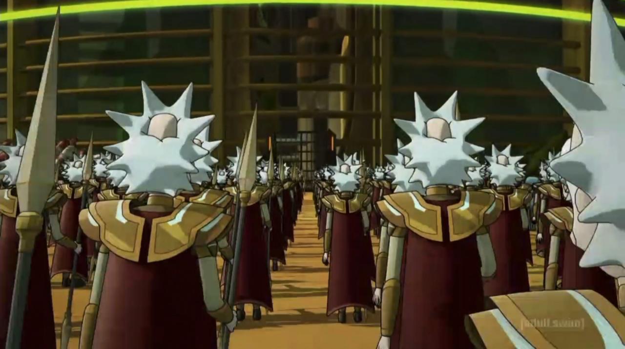 25. Army of Ricks