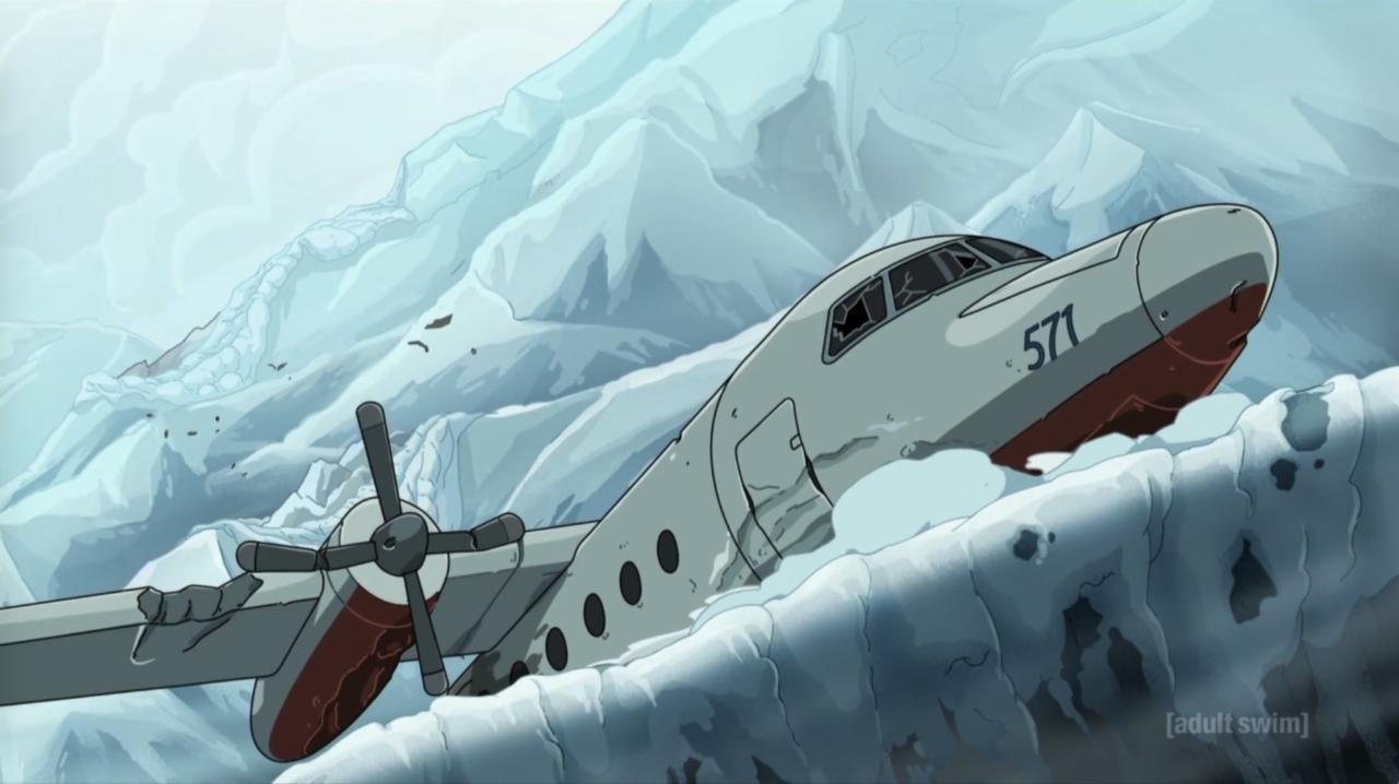 13. The Plane Crash Sequence