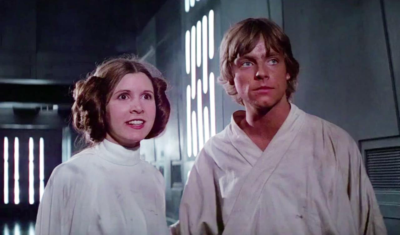 26. Luke and Leia