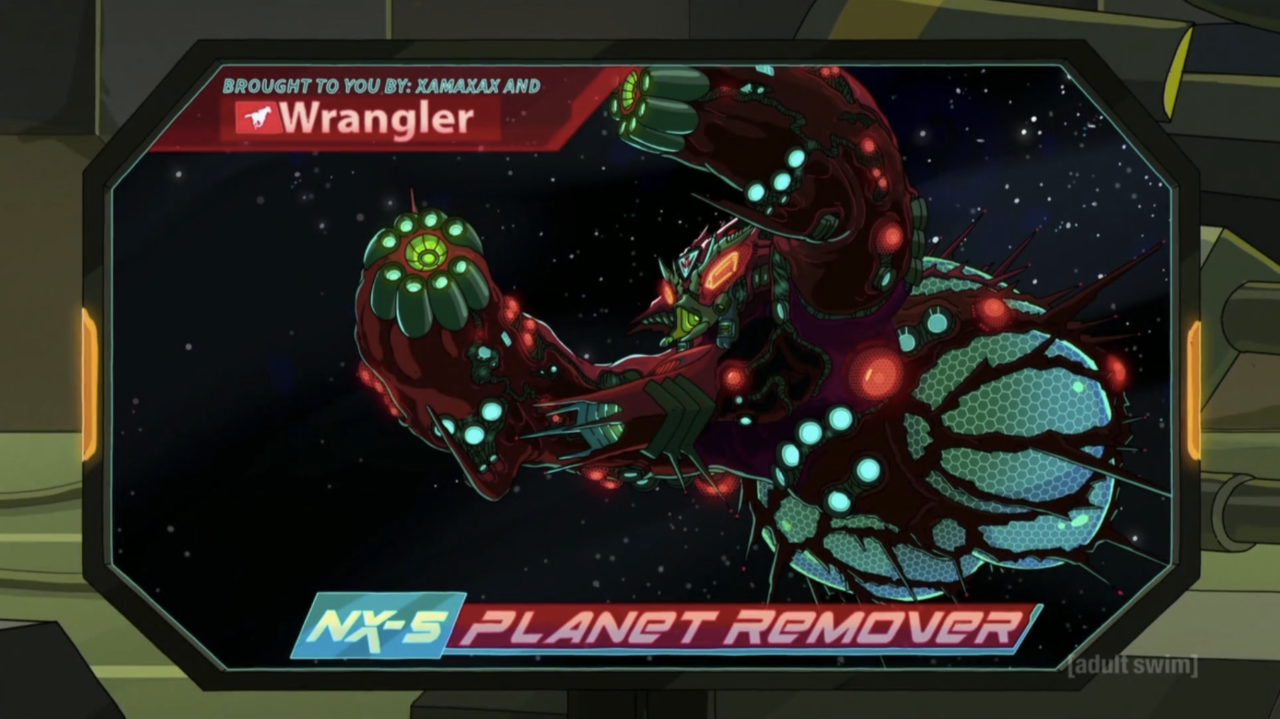 5. The NX-5 Planet Remover