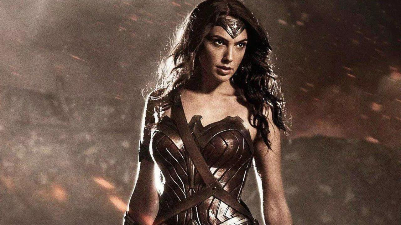 """22. They wanted to do a movie where Wonder Woman was still """"in the shadows"""""""