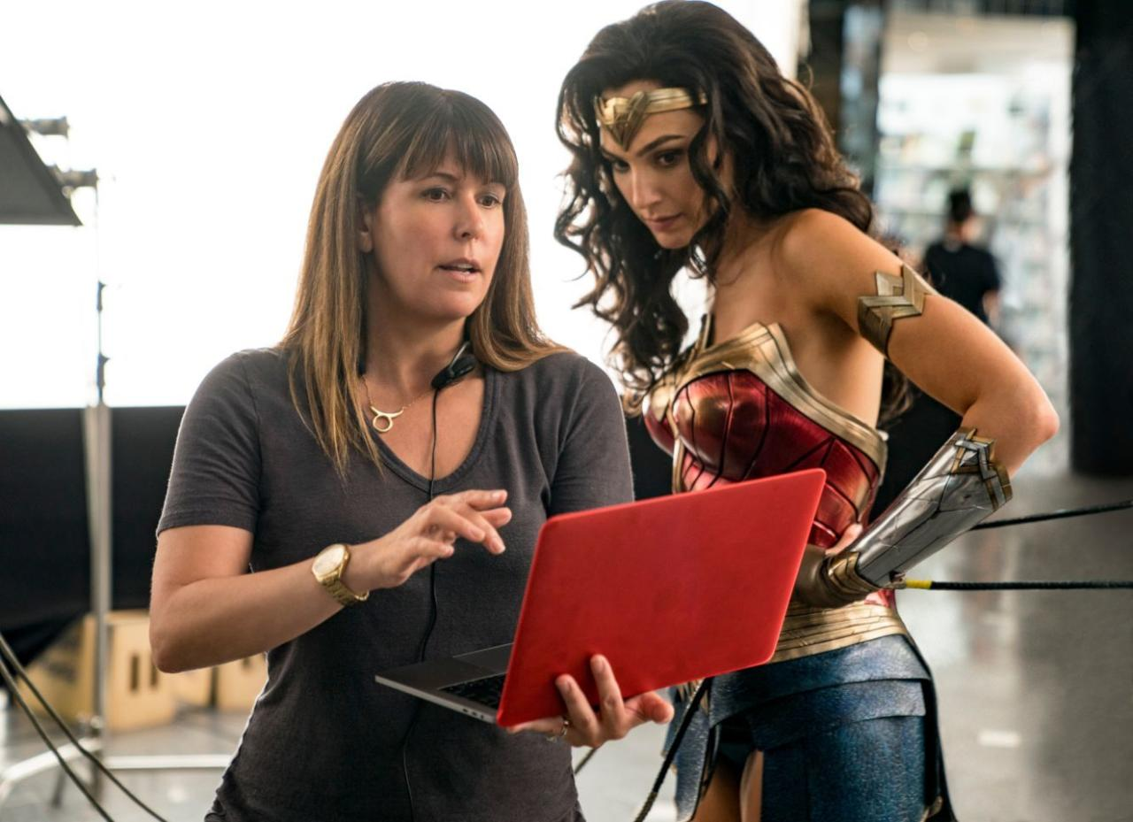 23. Patty Jenkins didn't want to deal with the group dynamic