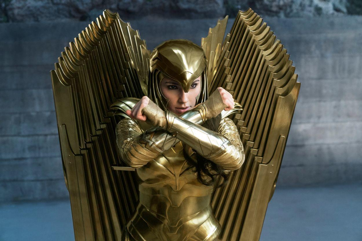 29. Wonder Woman's golden armor will have the iconic wings--sort of