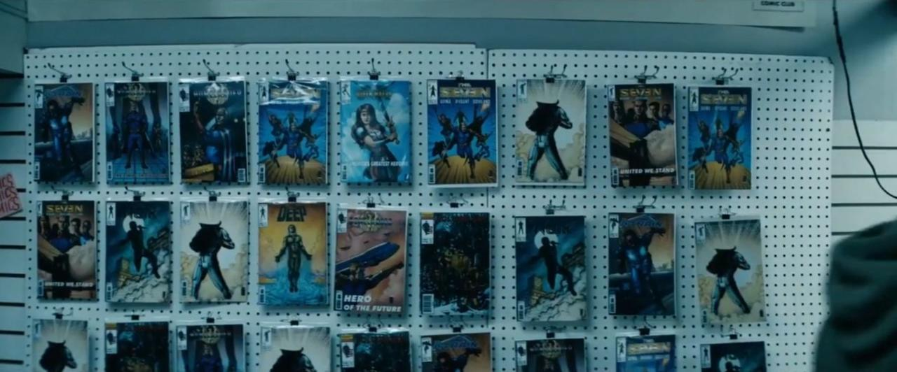 12. Comic book shop? What comic book shop?