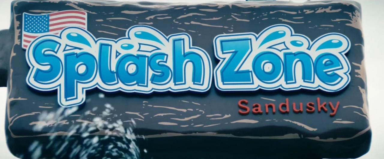 16. Splash Zone Sandusky