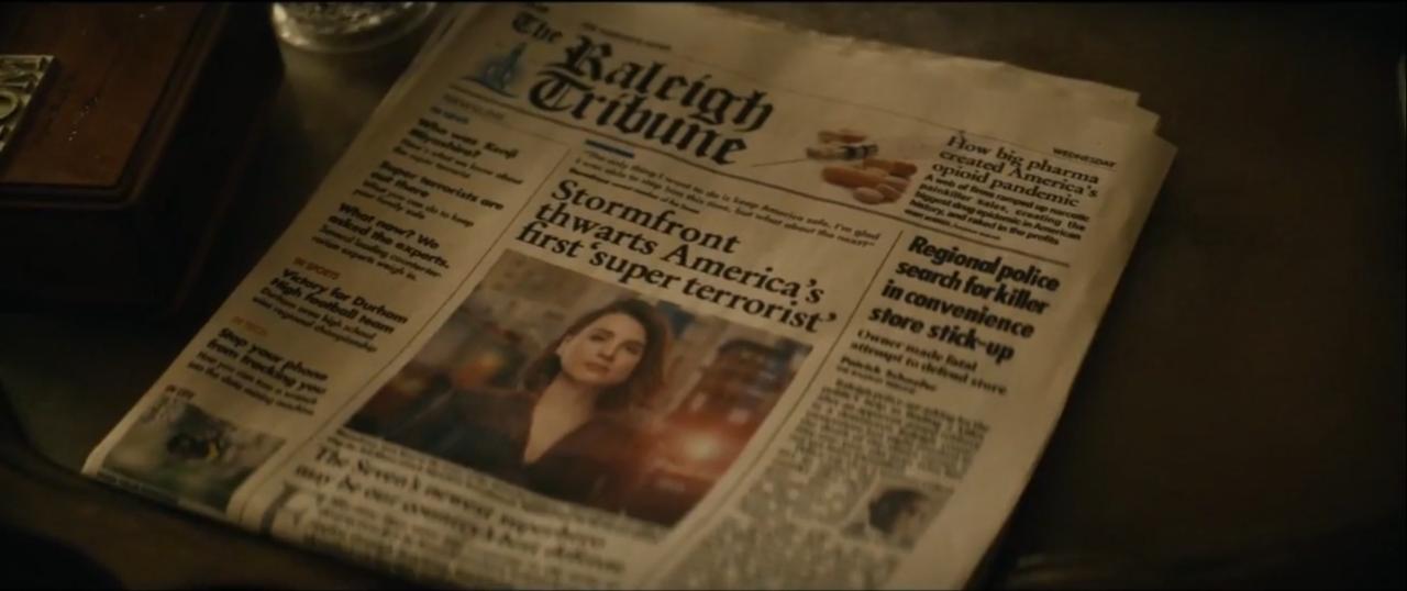 19. The Raleigh Tribune