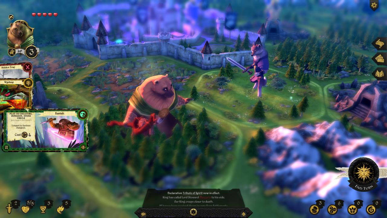The Australian-developed Armello was nominated for the Excellence in Visual Art at the 2016 IGF