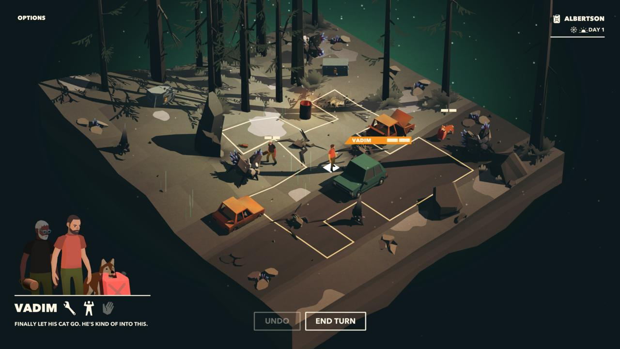 I can't wait to play more Overland.