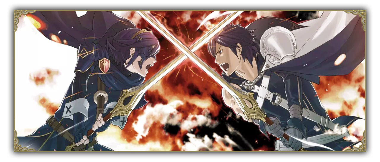 Lucina and Chrom, Fire Emblem Awakening (2013) for Nintendo 3DS