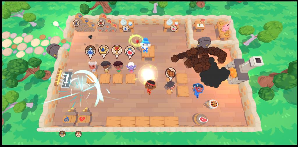 Chaos Tavern (PC, Nintendo Switch)   DragonBear Studios   Release: TBA