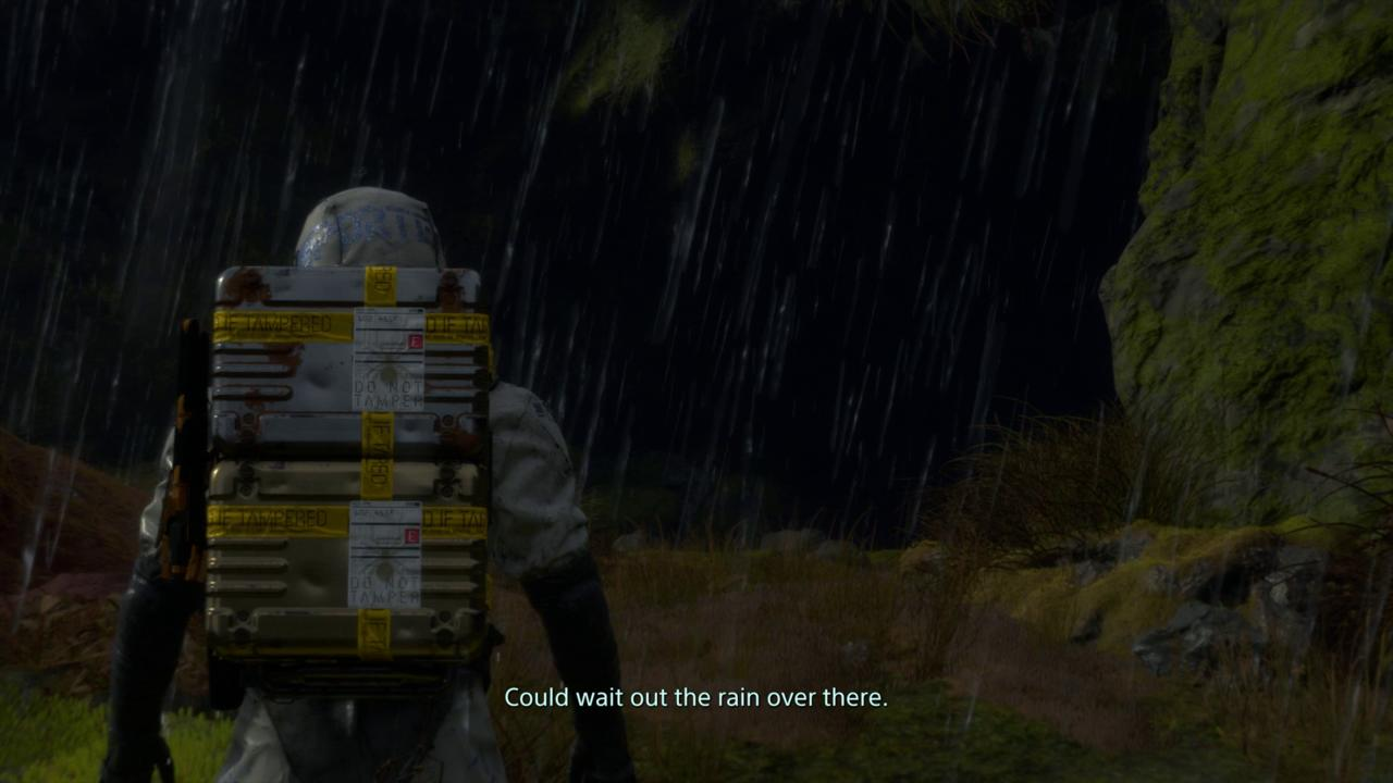 Prologue - Rain, Rain, Go Away