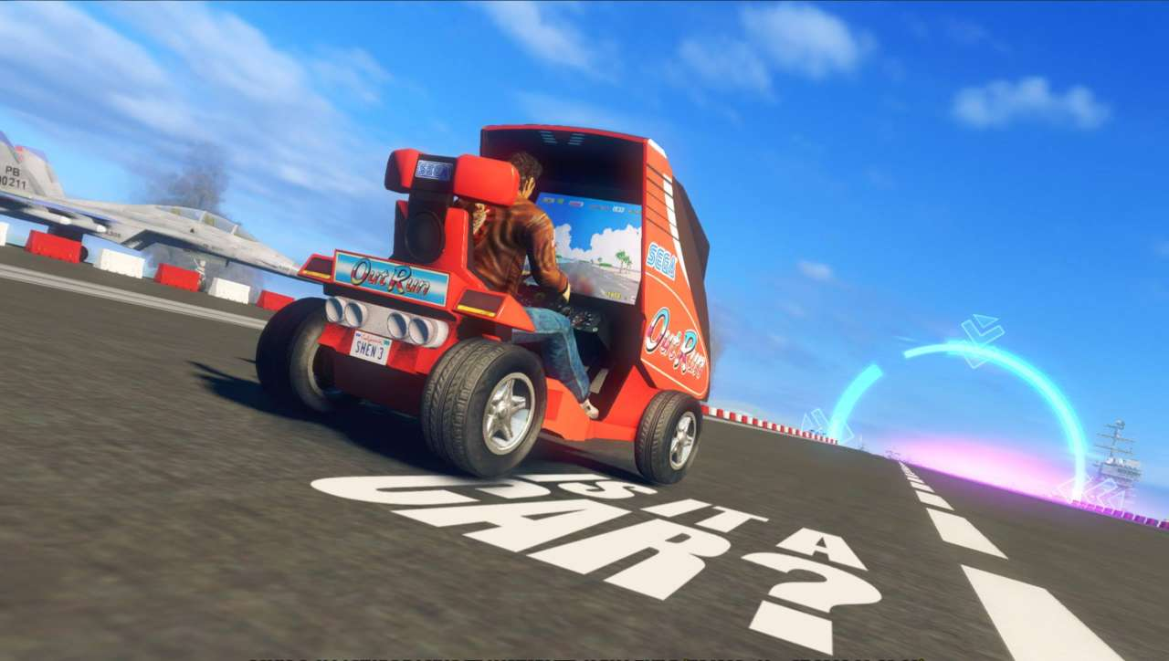 Does this screen from Sonic All-Stars Racing point to a Shenmue 3 future?