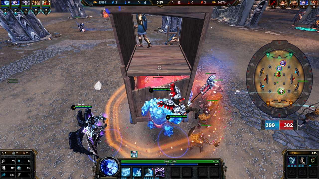 You must protect your portal from enemy minions in Arena to slow the bleed of attrition.
